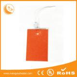 Elemento de aquecimento elétrico do aço inoxidável de almofadas quentes de borracha de silicone