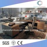 Новая самомоднейшая деревянная мебель l таблица офиса формы