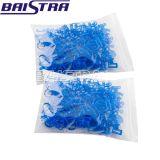 [بيسترا] وصول جديدة مستهلكة أسنانيّة زرقاء بلاستيكيّة قطر لف مشبك