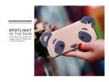 パンダの女性パーソナリティーデザインのための真珠のネックレスが付いているフラッシュ粉TPUの電話箱にあるiPhone6puls (XSDD-059)が
