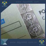機密保護のホログラムの糸が付いているカードを離れた新しいカスタムスクラッチ