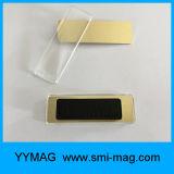 Het het magnetische Kenteken of Naamplaatje van de Naam in de Materialen van de Magneet van het Neodymium