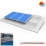 Более недорогой легкая крыша солнечный PV Installating устанавливает систему (NM0022)