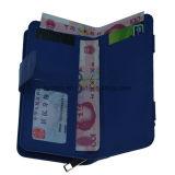 Бумажник PU перекрестной картины кожаный/повелительница Портмоне способа