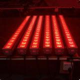 Lumière de lavage de mur de l'étape 18X12W RGBW 4in1 DEL de DMX d'intérieur