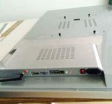 55インチLCDの床の永続的なタッチ画面のデジタル表記の対話型のキオスク