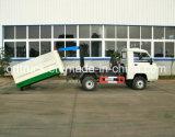 tipo caminhão do braço de gancho 3CBM de lixo, caminhão de transferência do lixo