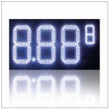 8inch 8.88 9/10 de indicador ao ar livre da estação do petróleo do preço do diodo emissor de luz, placas do sinal da indicação digital de preço de gás do diodo emissor de luz