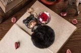 Ivenran ha conservato il fiore fresco Monchhichi Keychain per il regalo e la decorazione