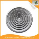 Difusor redondo de alumínio do ar da fonte da cor branca