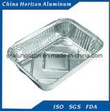 Wegwerfaluminiumfolie-Tellersegment für Röstung