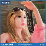 RoHS 148cmのリアルな固体シリコーンの性愛人形