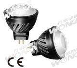 2.5W iluminación del paisaje del proyector del CREE LED MR11
