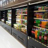 Milchprodukt-Supermarkt Multideck geöffneter Kühlraum