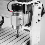 球ねじが付いている3040z木版画機械4軸線CNCのルーター