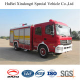 5.5ton Dongfeng Foam Fire Engine Euro 4