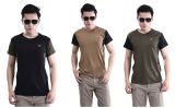 3개의 색깔 형식 여름 옥외 나일론 짧은 소매 t-셔츠