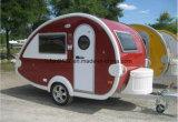 涙のキャンピングカーのタイプガラス繊維の小型キャラバン旅行トレーラーのキャラバン(TC-016)