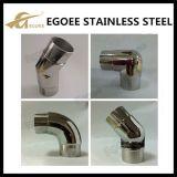 barandilla del acero inoxidable 304/316/316L codo del tubo del cuadrado de 90 grados