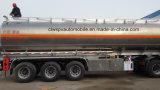 40kl 알루미늄 합금 유조선 트레일러 40000 리터 고품질 연료 탱크