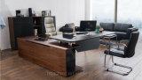 Bureau en cuir en bois moderne neuf (V18A)