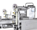 Máquina de etiquetas vazia quadrada redonda do frasco do suco para a linha de enchimento
