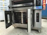 De Oven van het Dek van Combi van de Apparatuur van de bakkerij met Deeg Proofer