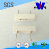 Rx27-4 resistor, resistor encajonado de cerámica de la herida del alambre, resistor del cemento,