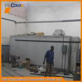 Forni d'indurimento della polvere del riscaldamento di gas con il carrello interno che carica nel Kenia