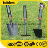 la trousse d'outils de jardin du gosse 3PCS pour d'intérieur et extérieur avec poussent, ratissent, sarcloir