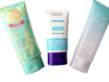 Tubos plásticos suaves, tubo de empaquetado poner crema cosmético