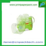 주문 리본 마분지 선물 포장을%s 다채로운 Handmade 오프셋 인쇄 서류상 선물 상자