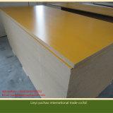 E1 el papel de la melamina del pegamento 17m m hizo frente al MDF para los muebles y la decoración