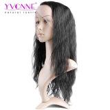 Yvonne-geben natürliche Wellen-Spitze-Vorderseite-Menschenhaar-Perücken für schwarze Frauen-brasilianisches Jungfrau-Haar-natürliche Farbe Verschiffen frei