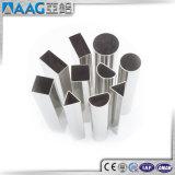 aislante de tubo cuadrado de aluminio 6063-T5