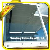 безопасность 3-19mm плоская/согнули/изготовление Tempered стекла кривого