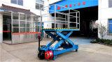 Het gemotoriseerde Mobiele Hydraulische Platform van de Lift van de Schaar (SJZ0.5-12)