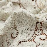 Nylon del jacquard L10004/tessuto di lavoro a maglia merletto cotone/del poliestere