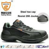 流行の夏の安全靴の保護つま先およびMidsoleは抵抗力がある作業靴を入れる
