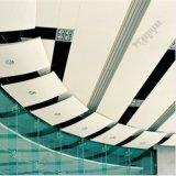 Panneau en aluminium de mur rideau de panneau en aluminium de tuile du plafond 3003 H24 20 enduit de la garantie PVDF d'an ignifuge