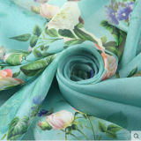 gasa de la seda de 8m m el 100% para la tela de seda de la bufanda
