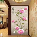 La pintura china impresa Digitaces del Peony para la decoración del vestíbulo