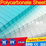 Serre chaude agricole de polycarbonate (couleur claire)