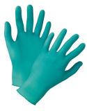 De groene Handschoenen van het Nitril van het Huishouden
