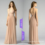 Venda Por Atacado vestidos de dama de honra de varejo Long Chiffon Evening Dresses Lb17926