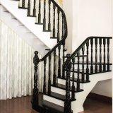 Stairway Design Modern Staircase de madeira maciça (GSP16-003)