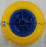 250-4 rotelle gialle della falciatrice da giardino della gomma piuma dell'unità di elaborazione