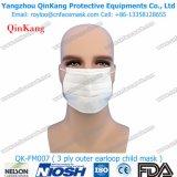 Лицевой щиток гермошлема Nonwoven медицинской поставки Breathable 3ply Earloop