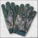 軍のMulticamo防水野生のTraning Multicamoのカムフラージュの戦術的な屋外のBionic完全半分指のスポーツの走行の皮手袋を反刺しなさい