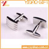 Ovale Cufflink van uitstekende kwaliteit met Geplateerd Goud (yB-r-026)